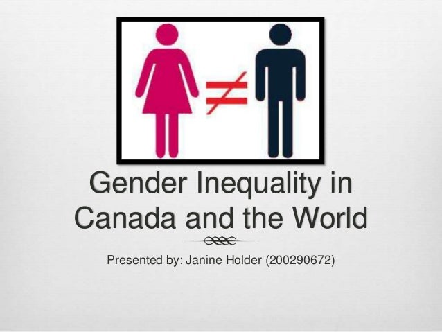 changes in gender inequality in canada
