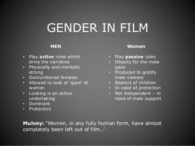 Gender in Film (TV Y1)