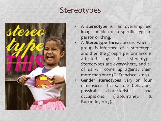 gender stereotypes in literature essay