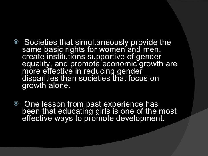 gender issues However, gender bias extends to electoral politics and representative governance as well the relative difference between male and female voters is the key to understanding gender inequality in.