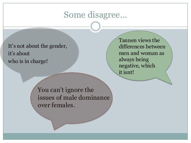 genderlect definition