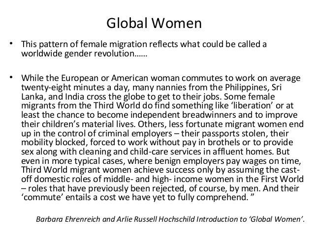 global woman barbara ehrenreich