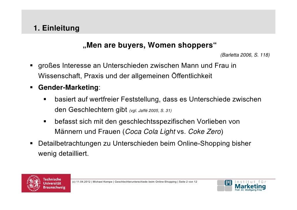 low priced 41ac2 73047 Geschlechtsspezifische Unterschiede beim Online-Shopping