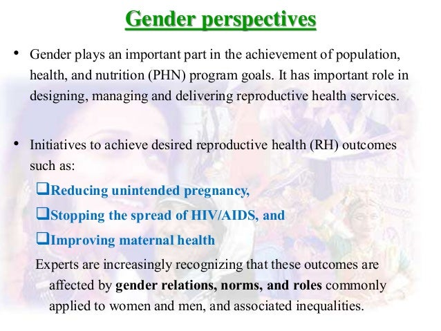gender perspective in education