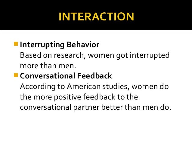 gender differences in politeness The objectives of this study were to identify types of politeness strategies, to examine the differences of politeness patterns used by different gender and to see how the politeness strategies.