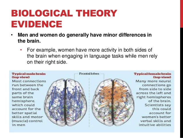 are there differences between the genders The differences between genders, however,  yes there are differences, how could there not be no they are not prescriptive - science is descriptive,.