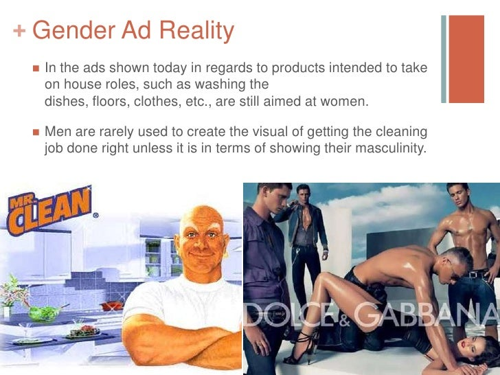 Gender representation in advertising essay