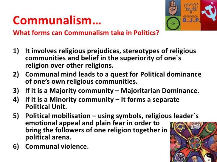 causes of communalism in india pdf