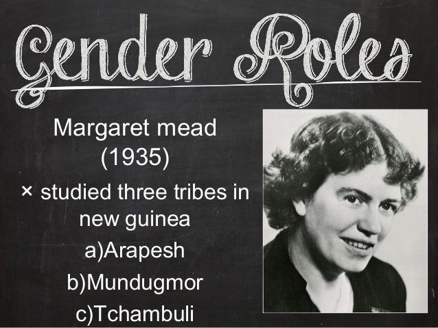 Margaret mead gender roles