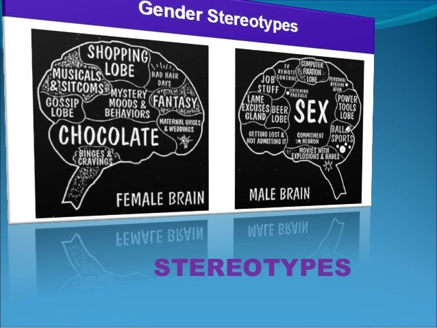 a glimpse at gender role stereotypes Academia is not immune to gender  and a lack of appropriate role models  the survey suggested that internalised gender stereotypes are at least partly.