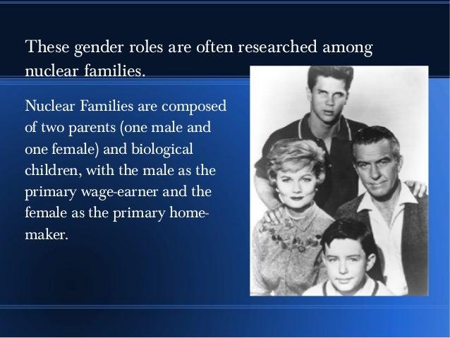 Gender roles in american households