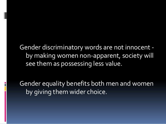 Socialization• Gender roles determine how males andfemales should think, speak, dress andinteract within the context of so...