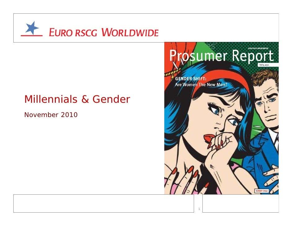 Millennials & GenderNovember 2010                       1