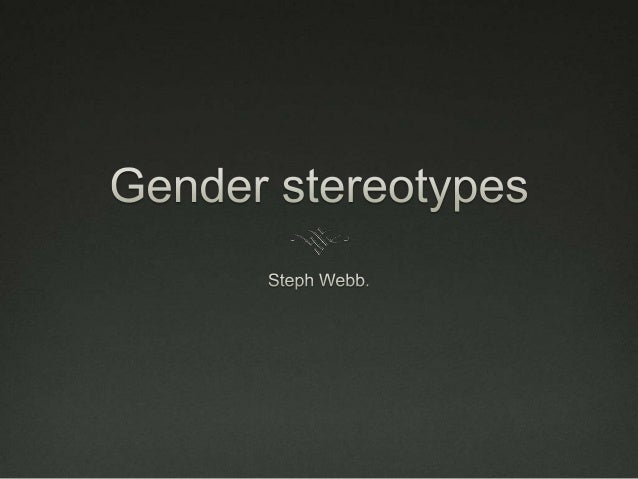 Definition of stereotypes  A stereotype is a label which involves a process of categorisation and evaluation.  Although ...