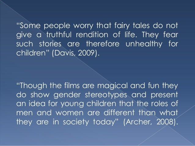 gender stereotypes in fairy tales essay 250000 free fairy tales gender roles papers & fairy tales gender roles essays at #1 essays bank since 1998 biggest and the best essays bank fairy tales gender.