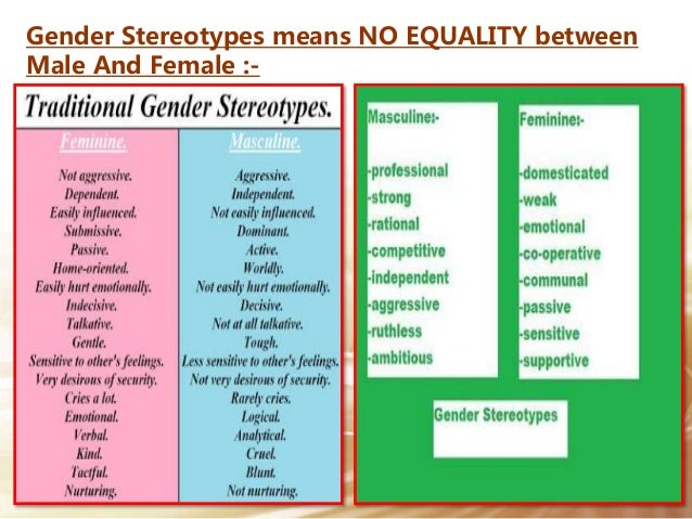Gender Stereotypes In Sense And Sensibility