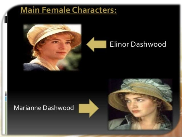a comparison of marianne and elinor two characters in the novel sense and sensibility by jane austen Sense and sensibility by jane austen novel called elinor and marianne that was finally be sure in your comparison to note both similar characters and.