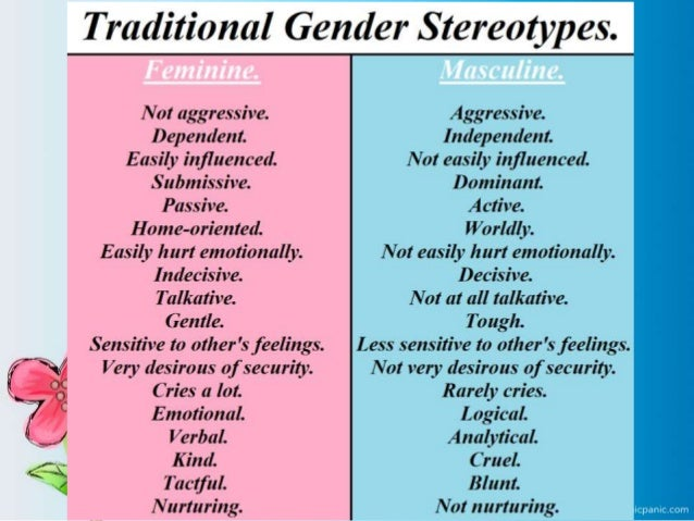 what is sexual stereotyping