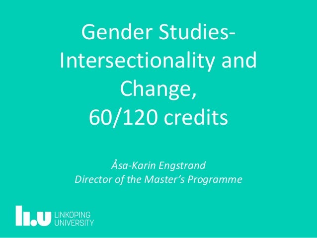 gender studies 1950s present Portraits of this metamorphosis have, since the 1950s, often been studies   examined the present article addresses the relationship of gender to this  discourse.