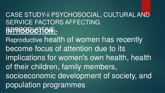 1.To examine socio-economic and demographic characteristics of women, and cultural and service related factors affecting h...