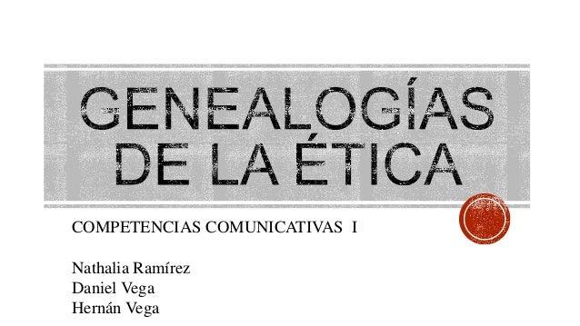 COMPETENCIAS COMUNICATIVAS I Nathalia Ramírez Daniel Vega Hernán Vega
