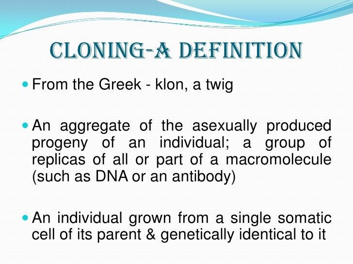 Gene cloning Slide 3