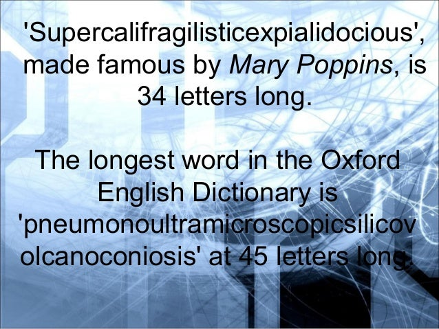 how many letters are in supercalifragilisticexpialidocious how many letters are in supercalifragilisticexpialidocious 22171 | gene expression translation and transcription 2 638