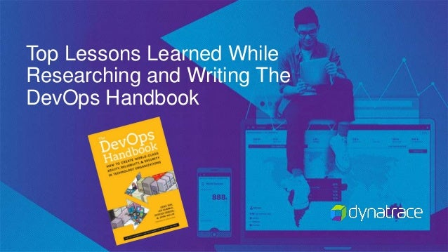 Top Lessons Learned While Researching and Writing The DevOps Handbook