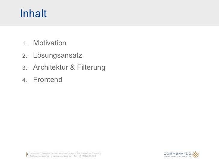 Geneme: Aggregation und Personalisierung von Informationsströmen Slide 2