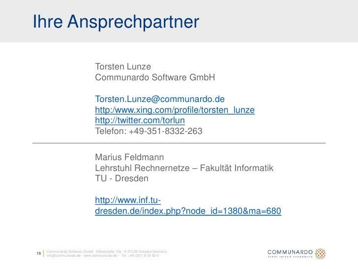 Ihre Ansprechpartner                                  Torsten Lunze                                 Communardo Software Gm...