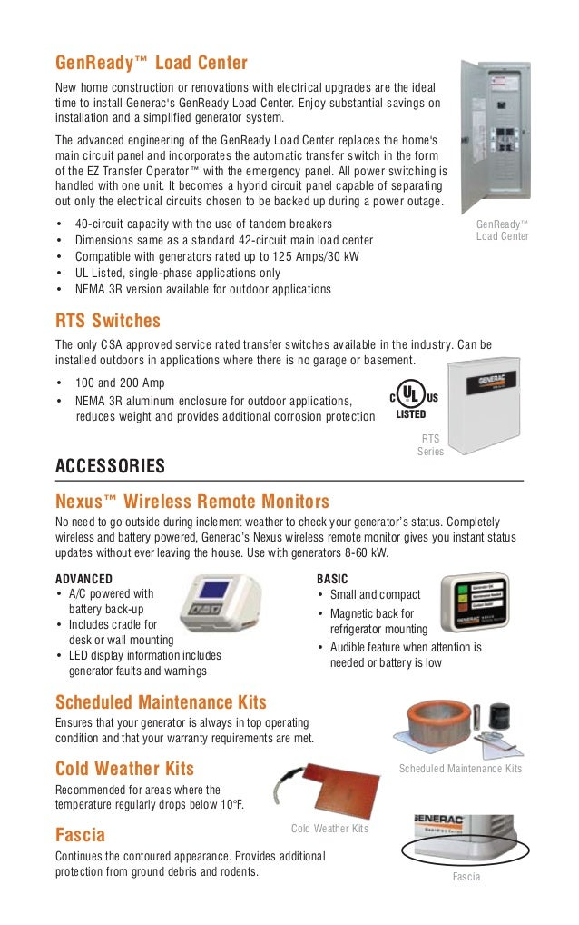thornton heating services generac automatic standby generators po automatic transfer switches 15