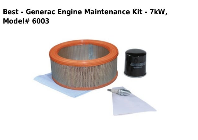 Best - Generac Engine Maintenance Kit - 7kW,Model# 6003