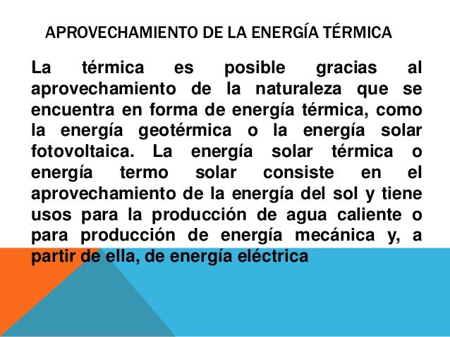 Generaci n de energ a t rmica a base de carb n - En que consiste la energia geotermica ...