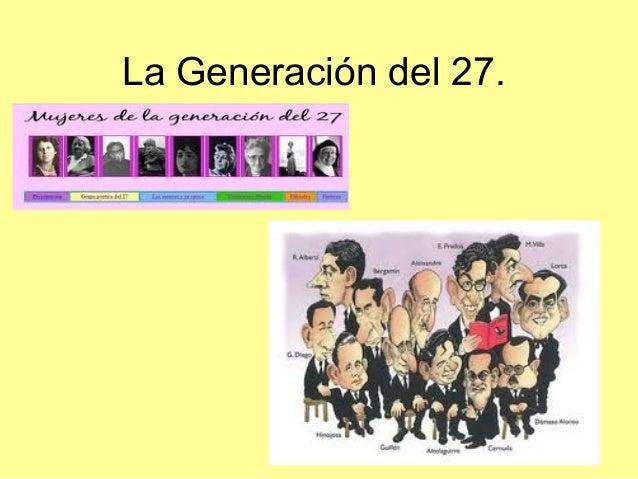 La Generación del 27.