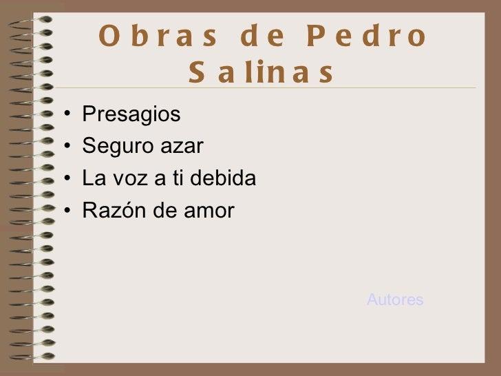 Love Poems by Pedro Salinas