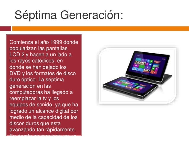 Septima generacion de computadoras yahoo dating