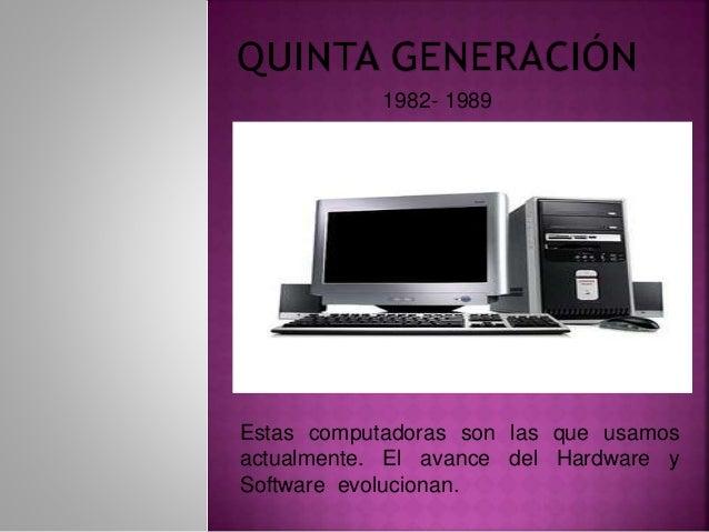generaciones de las computadoras  1951
