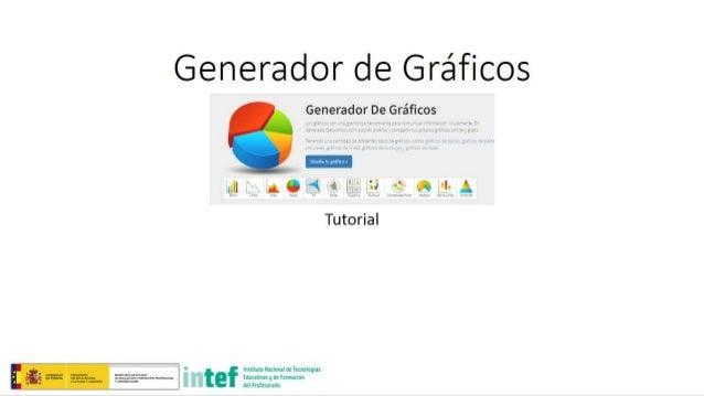 Generador de Gréficos  Generador De Gréficos Z 11'!  1..  A Q    35  9' . '.''. . A  Tutorial  Insmm» uannnan no hmolnglas ...