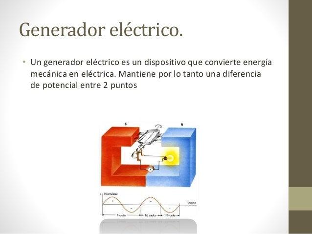 Principios del generador electrico related keywords - Generador electrico precios ...