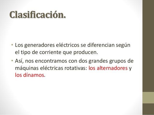 Generadores introduccion - Generadores de corriente ...