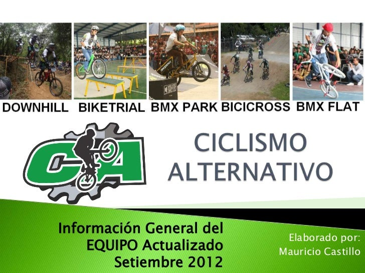 Información General del                           Elaborado por:    EQUIPO Actualizado    Mauricio Castillo       Setiembr...