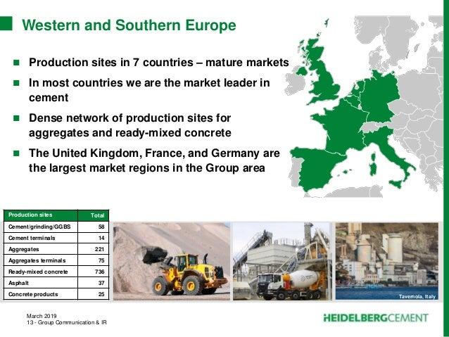 HeidelbergCement - Group Presentation