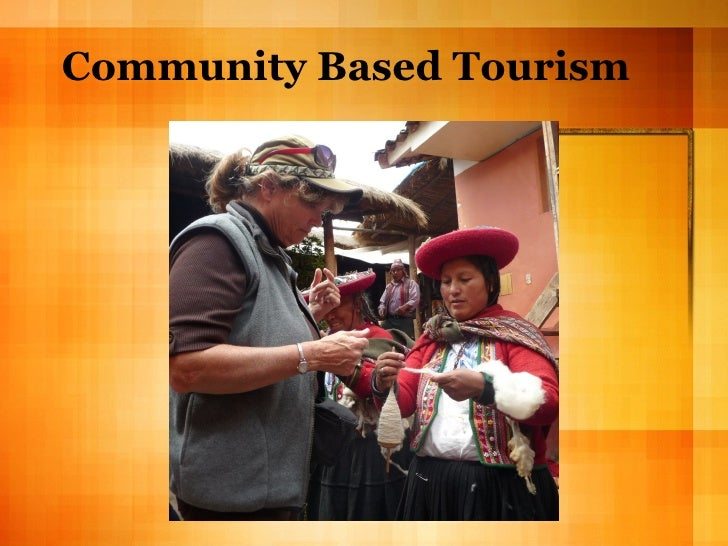 Community Based Tourism