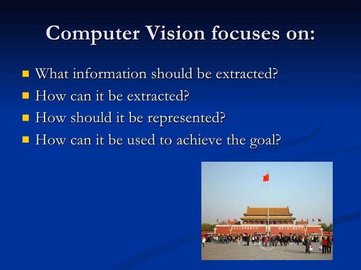 introduction to computer vision pdf