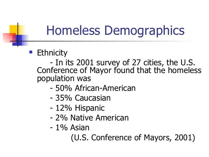 Causes and Effects of Homelessness Essay - Words | Bartleby