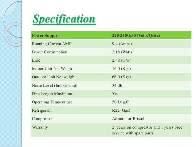 General 1 5 Ton split Ac price in Bangladesh