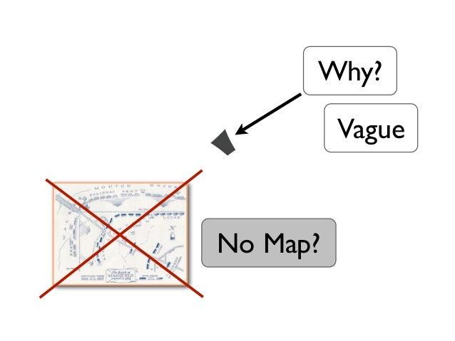 Why?          VagueNo Map?