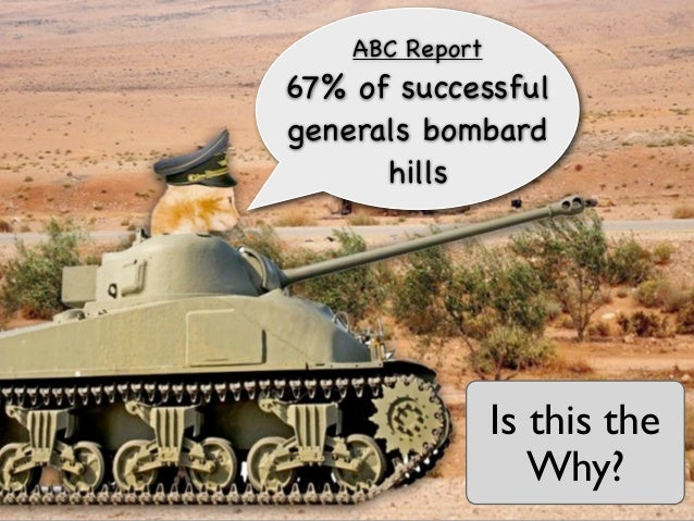 ABC Report67% of successfulgenerals bombard      hills                 Is this the                    Why?