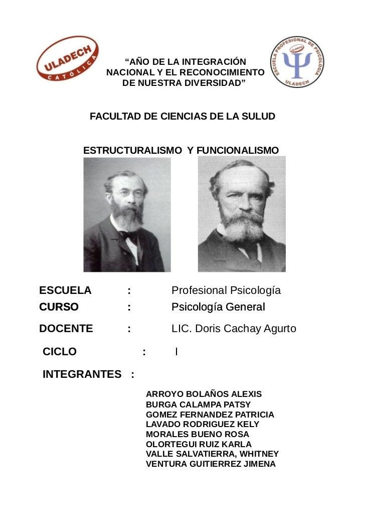 """""""AÑO DE LA INTEGRACIÓN           NACIONAL Y EL RECONOCIMIENTO             DE NUESTRA DIVERSIDAD""""         FACULTAD DE CIENC..."""