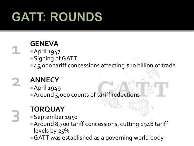 General agreement on tariffs and trade gatt 10 platinumwayz